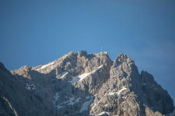 Blick auf die Zugspitze -