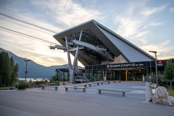 Talstadion Seilbahn Zugspitze -